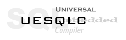 UESQLC Universal Embedded SQL Compiler